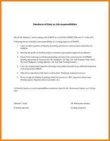 Handing In A Resume And Cover Letter by 4 Handing Letter Format Hr Cover Letter