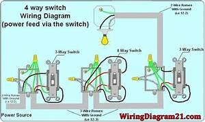 U00c9pingl U00e9 Par Cat6wiring Sur 4 Way Switch Wiring Diagram