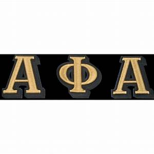 alpha phi alpha 3 d greek letter patch greek divine and more With alpha phi omega letters