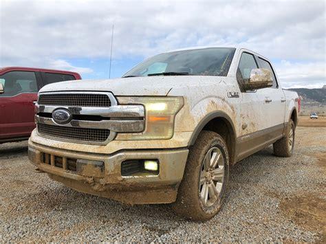 2018 F 150 Diesel: Off Road Test