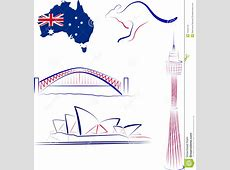 Australia Sights And Symbols Editorial Image