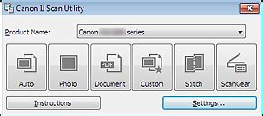 canon knowledge base   ij scan utility