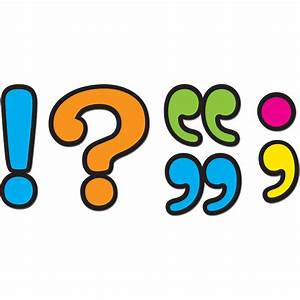 Punctuation Marks Magnetic Accents - TCR77220 | Teacher ...