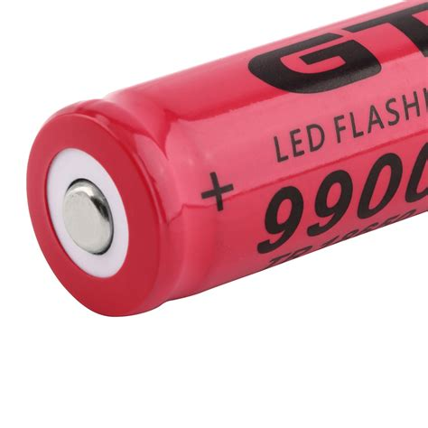 tr 18650 3 7v 9900mah rechargeable li ion battery for led