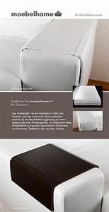 Tablett Für Hocker : sofatablett hocker sofa couch armlehne ablage tablett weiss berlin ~ Buech-reservation.com Haus und Dekorationen