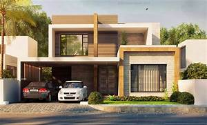 3d front elevation modern house plans house designs in ...