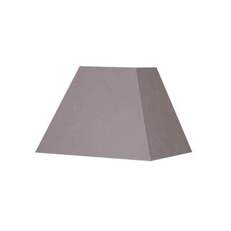 abat jour carre pyramide abat jour carr 233 pyramide gris taupe sur le avenue