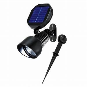 Spot Solaire Extérieur : spot solaire sur eclairage ext rieur ~ Melissatoandfro.com Idées de Décoration