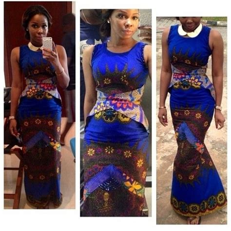 Top Nigerian Fashion, Ankara Women Dresses 2016   Fashionte