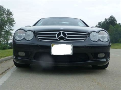 Find Used 2003 Mercedes Sl55 Amg, Convertible, Black