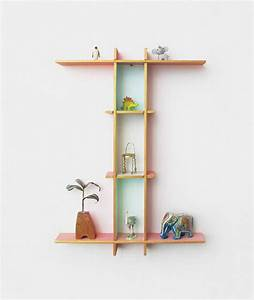 cool letter shaped shelves hative With letter shaped picture frames