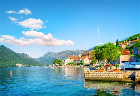 Summer In Montenegro Stock Photo Image Of Evening