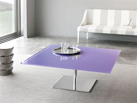 colored glass table ls nella vetrina tonelli farniente modular italian square
