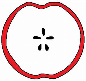 Sliced Apple Clipart | www.imgkid.com - The Image Kid Has It!