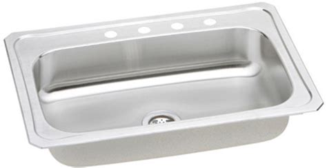 33x22 Sink Cut Out by Elkay 33x22 Single Bowl Sink Crs3322