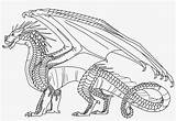 Wings Coloring Fire Hybrid Dragonet Dragon Pngkey Characters Transparent Theseacroft Character Novel Coloringnori sketch template