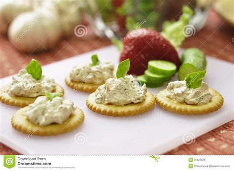 canape biscuit canape royalty free stock photo image 31624575
