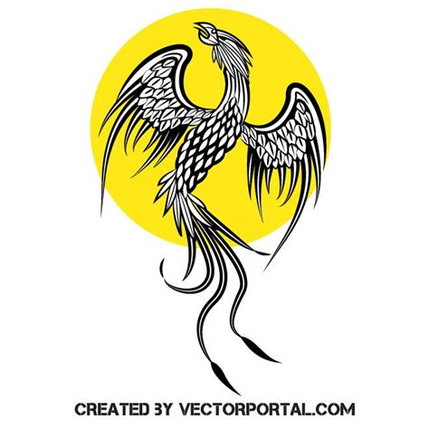 Freesvg.org offers free vector images in svg format with creative commons 0 license (public domain). Phoenix bird in 2020 | Phoenix bird, Animal free, Vector free