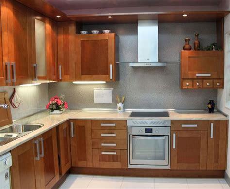 decoracion de cocinas  madera natural