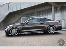 BMW M4 in Pyrite Brown Metallic M Performance meets