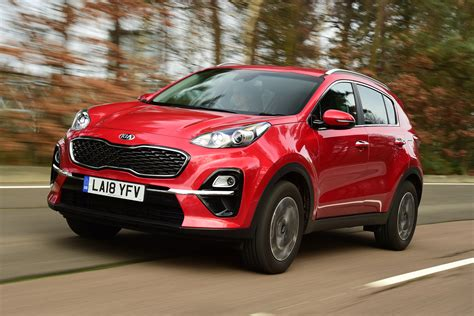 kia sportage suv pictures carbuyer