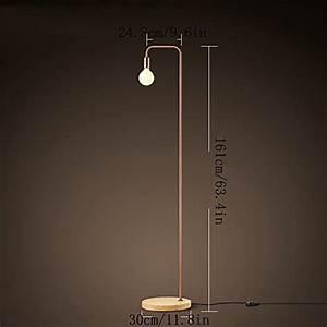 Büro Stehlampe Led : minimalistische led holz stehlampe retro industrie b ro schlafzimmer wohnzimmer stehlampe ~ Markanthonyermac.com Haus und Dekorationen