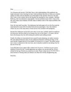 Train plaint Letter