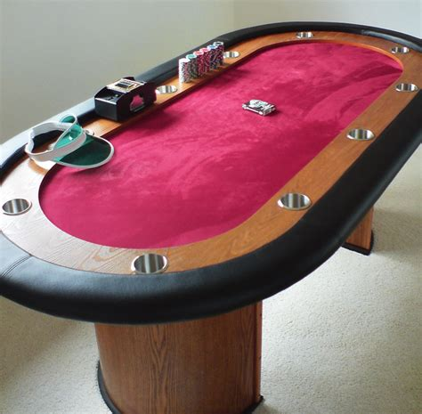 No Limit Texas Hold'em Poker Table Drinkstuff