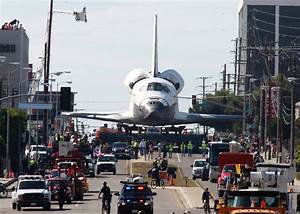 Space Shuttle Endeavour Rolls Through Los Angeles - The ...