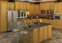 oak kitchen cabinets Buy Carolina Oak RTA (Ready to Assemble) Kitchen Cabinets ...