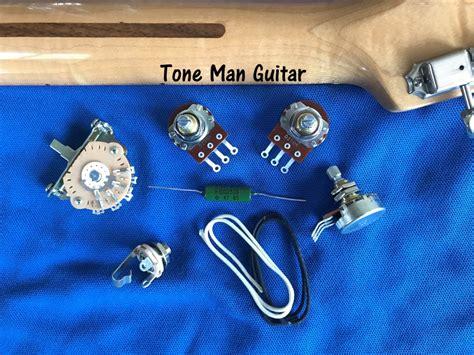Fender Strat Wiring Harnes Diy by Fender Stratocaster Upgrade Wiring Kits