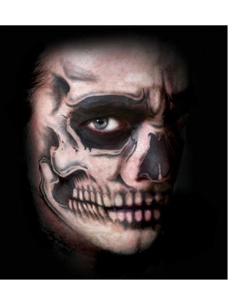 tatouage ephemere visage squelette adulte deguise toi