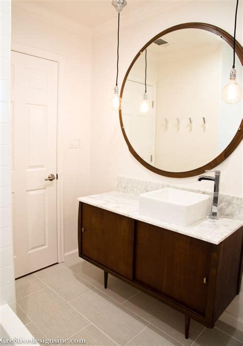 mid century modern sink vanity mid century modern bathroom cre8tive designs inc