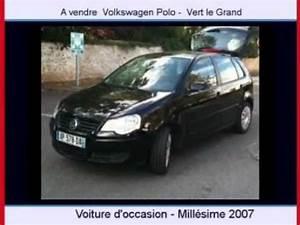 Voiture Polo Occasion : achat vente une voiture occasion volkswagen polo vert le grand youtube ~ Maxctalentgroup.com Avis de Voitures