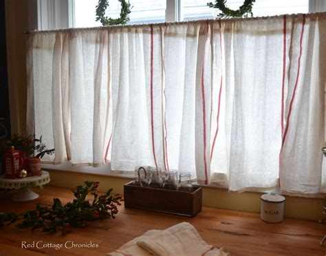 How To Create Cafe Curtains For Under 5 Dollars Outdoor Striped Curtain Panels Flexible Ceiling Mounted Track System Thermal Window Liners Putting Curtains In Bay Sheer Voile 72 Inch French Door Panel White Hanging Rod Room Divider Installing Beaded Crystal Canada