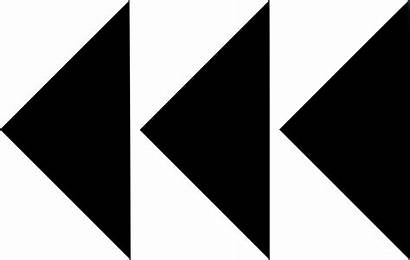 Arrows Three Rewind Icon Svg Onlinewebfonts