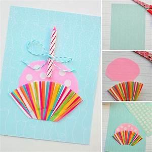 Geburtstagskarten Basteln Ideen : die besten 25 cupcake geburtstagskarte basteln ideen auf pinterest cupcake karte cupcake ~ Watch28wear.com Haus und Dekorationen