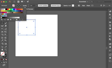 draw  adobe illustrator working  shapes