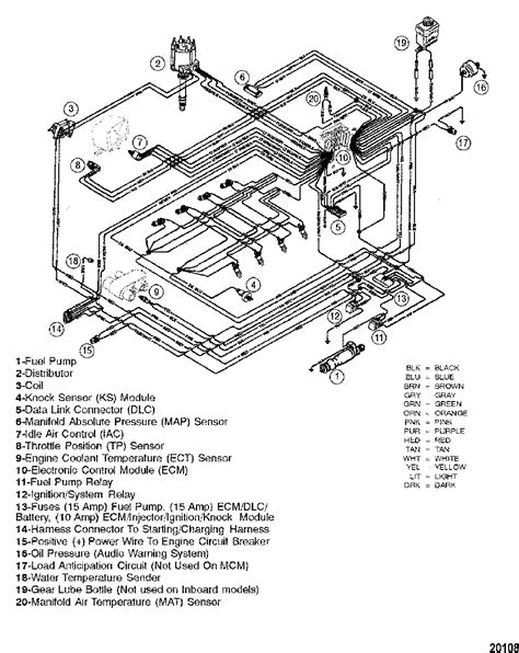 Mercruiser Mpi Mag Bravo Gen Wiring Harness