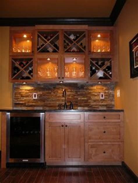 maple kitchen cabinets 29 best small basement bar ideas images on 3448