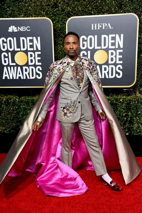 Black Celebrities Blessed The Golden Globes Red