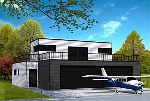 Grand Garage De Provence : maison cubique avec garage pour avion yohann baheux ma tre d 39 oeuvre permis de construire 59 62 ~ Gottalentnigeria.com Avis de Voitures