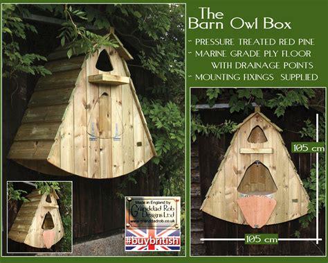 barn owl box ob barn  gifts  granddad rob