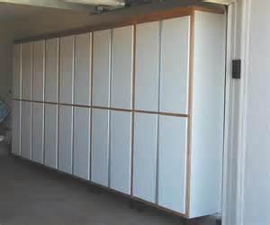 Custom Built Garage Cabinets