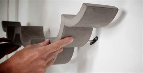 cloud concrete toilet paper shelf  bertrand jayr