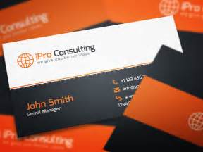 home design consultant free psd ipro consulting business cards
