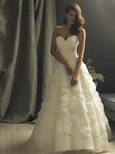 ivory flower applique ball gown designer vintage wedding With vintage ivory wedding dresses