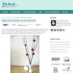 Comment Faire Une Rose En Papier Facilement : d coration julie5 pearltrees ~ Nature-et-papiers.com Idées de Décoration