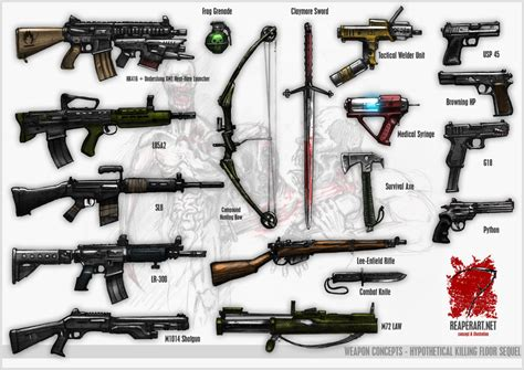 killing floor 2 weapons killing floor weapon mods meze blog