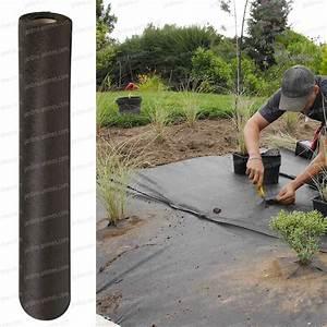 Geotextile Sous Gravier : feutre weed stop s anti mauvaise herbe bidim accessoires ~ Premium-room.com Idées de Décoration
